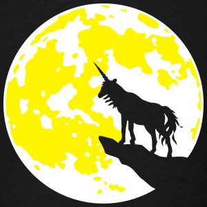 Einhorn Mond bs T-Shirts - Men's T-Shirt