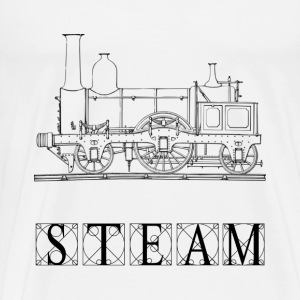 Steam Train - Men's Premium T-Shirt