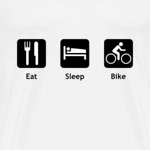 Eat Sleep Bike - Men's Premium T-Shirt