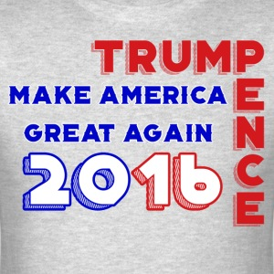 Trump Pence 2016 - Men's T-Shirt
