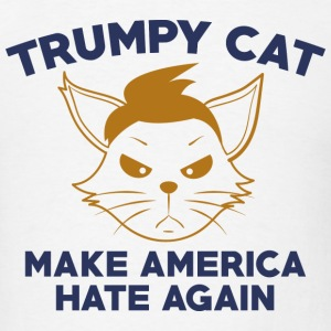 Trumpy Cat - Men's T-Shirt