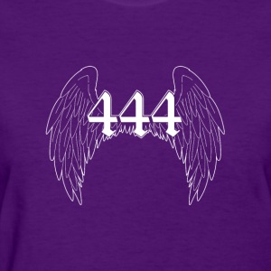 White Angels Wings 444 - Women's T-Shirt