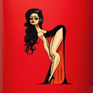 Vampire Pin-up (no bg) Mugs & Drinkware - Full Color Mug