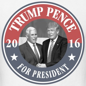 Trump Pence For President T-Shirts - Men's T-Shirt