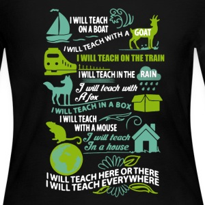 Teach Shirt - Women's Long Sleeve Jersey T-Shirt