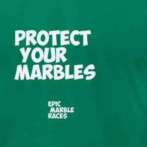 Protect your marbles - Men's T-Shirt by American Apparel