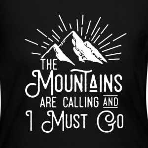 The Mountains Shirt - Women's Long Sleeve Jersey T-Shirt