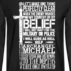 Military Shirt - Men's Long Sleeve T-Shirt