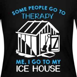 Ice House Therapy Shirt - Women's Long Sleeve Jersey T-Shirt