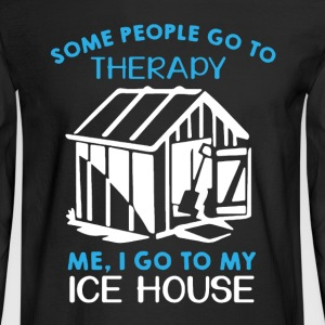 Ice House Therapy Shirt - Men's Long Sleeve T-Shirt