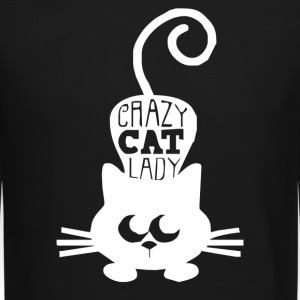 Crazy Cat - Crewneck Sweatshirt