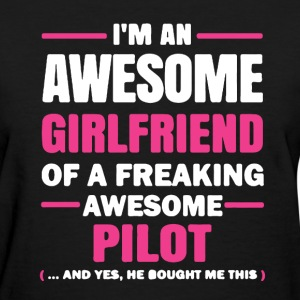 Pilot Girlfriend Shirt - Women's T-Shirt