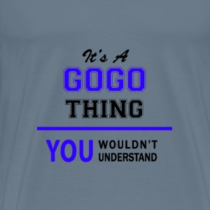 gogo thing, you wouldn't understand T-Shirts - Men's Premium T-Shirt
