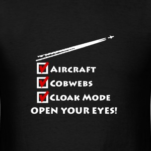 chemtrail shirt - Men's T-Shirt