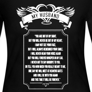 My Husband Shirt - Women's Long Sleeve Jersey T-Shirt