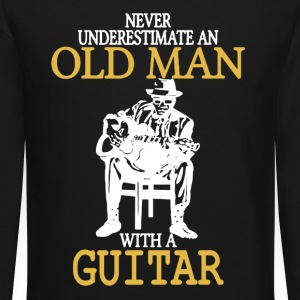 Old Man With A Guitar - Crewneck Sweatshirt