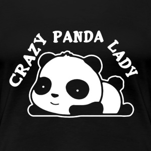 Crazy Panda Lady Shirt - Women's Premium T-Shirt