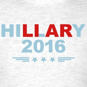 Truthful Hillary for President in 2016 - Men's T-Shirt