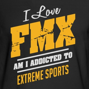 I Love FMX Extreme Sport - Men's Long Sleeve T-Shirt