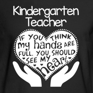 Kindergarten Teacher  - Men's Long Sleeve T-Shirt