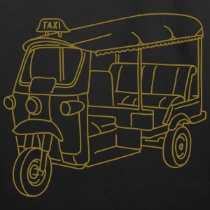 Tuk-tuk, auto rickshaw Bags & backpacks - Eco-Friendly Cotton Tote