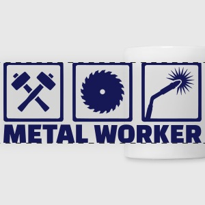 Metal worker Mugs & Drinkware - Panoramic Mug