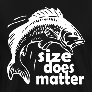 FISHING SIZE DOES MATTER T-Shirts - Men's Premium T-Shirt