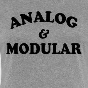 Analog and Modular T-Shirts - Women's Premium T-Shirt