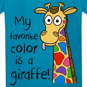 Kids Giraffe T-Shirt - Kids' T-Shirt