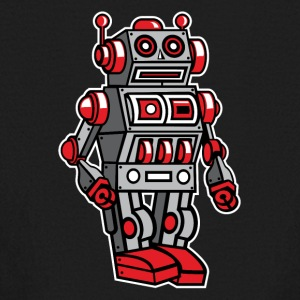 Retro Metal Toy Robot Kids' Shirts - Kids' Long Sleeve T-Shirt