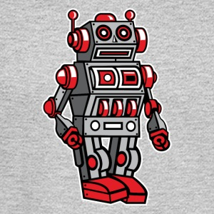Retro Metal Toy Robot Long Sleeve Shirts - Men's Long Sleeve T-Shirt