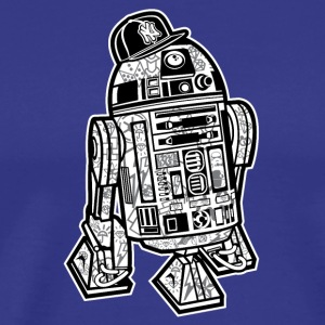 R2D2 Star Wars Gangster T-Shirts - Men's Premium T-Shirt