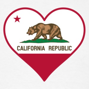 I love california - Men's T-Shirt