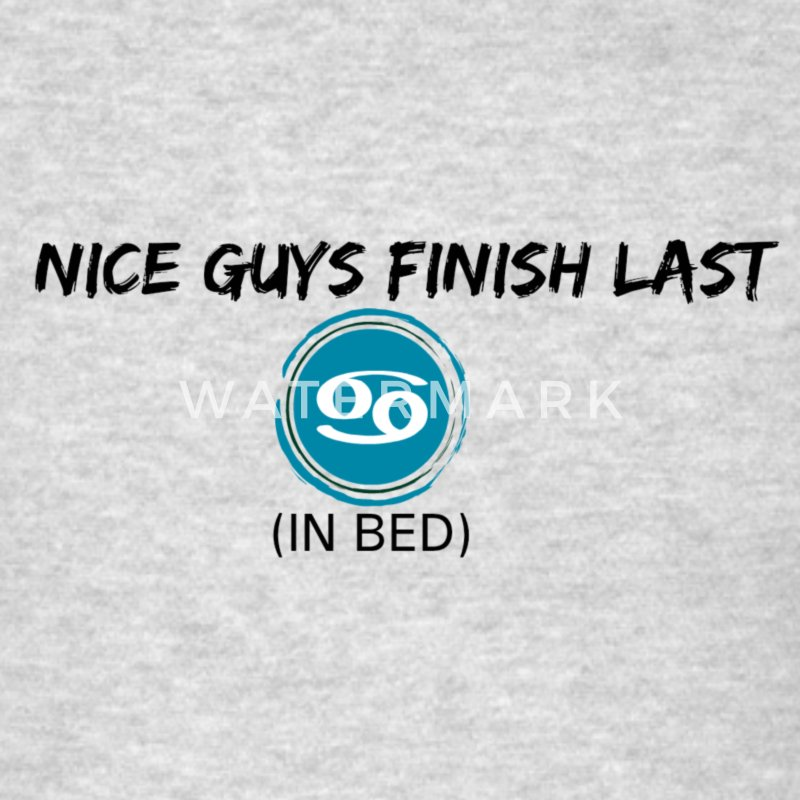 Nice Guys Finish Last T-Shirts - Men's T-Shirt