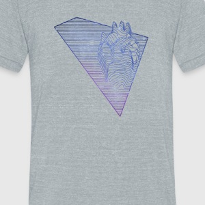 Heart Beat - Unisex Tri-Blend T-Shirt by American Apparel