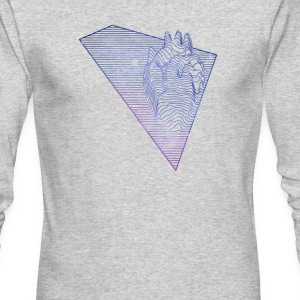 Heart Beat - Men's Long Sleeve T-Shirt by Next Level