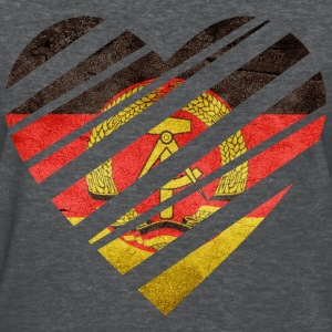 East Germany Heart T-Shirts - Women's T-Shirt
