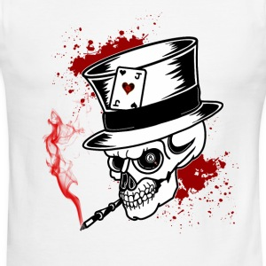 Magic 8 Skull - Men's Ringer T-Shirt