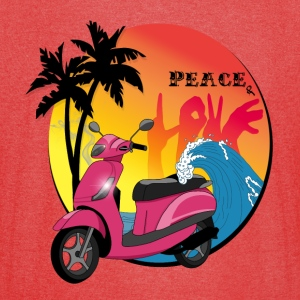 Peace and love - Vintage Sport T-Shirt