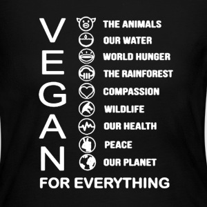 Vegan Shirt - Women's Long Sleeve Jersey T-Shirt