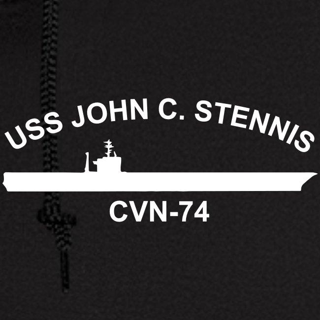USS JOHN C STENNIS 2016 WESTPAC CRUISE ZIP HOODIE - ort