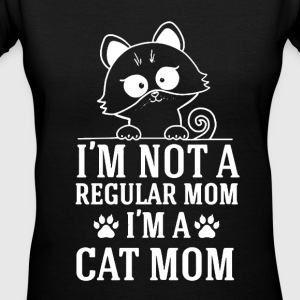 Cat Mom Shirt - Women's V-Neck T-Shirt