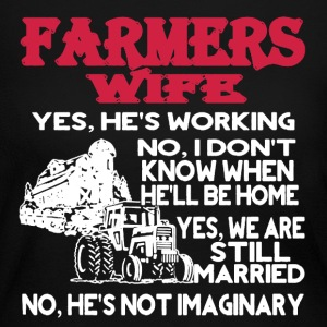 Farmers Wife Shirt - Women's Long Sleeve Jersey T-Shirt
