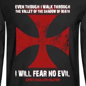 Fear No Evil Shirt - Men's Long Sleeve T-Shirt