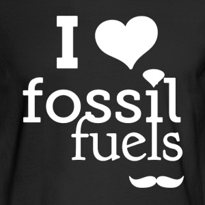 I Love Fossil Fuels - Men's Long Sleeve T-Shirt