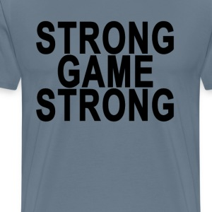 strong_game_strong_ - Men's Premium T-Shirt