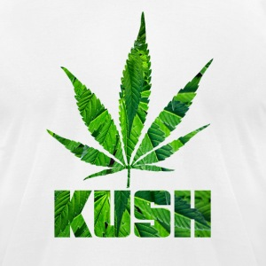 KUSH T-Shirts - Men's T-Shirt by American Apparel