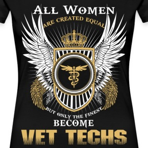 Vet tech shirt - Women's Premium T-Shirt