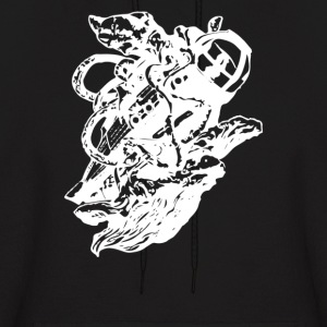 Giant Squid vs - Men's Hoodie