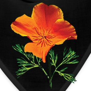 Orange California Poppy Caps - Bandana